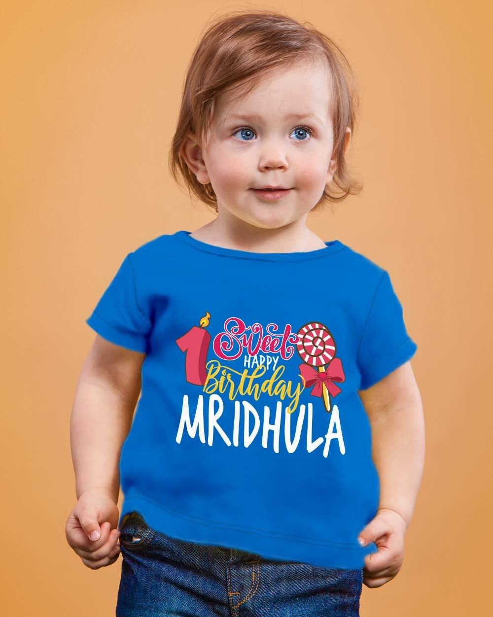 Sweet Candy First Birthday T Shirt